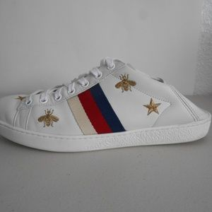 78c1147659b Gucci Shoes - GUCCI  Ace  Convertible Sneakers w  Bees and Stars